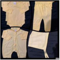 lote bebe unissex 14 pecas - 3 meses - Variadas