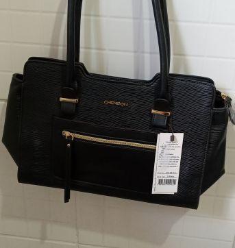 Bolsa Preta linda nova com etiqueta - Sem faixa etaria - Chenson