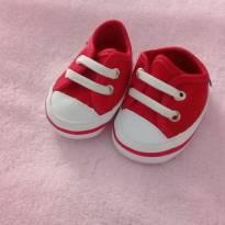 Tenis vermelhinho para bebês - 14 - Pimpolho