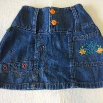Saia jeans - 4 anos - Buona Notte