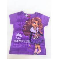 Camiseta infantil MONSTER HIGH da MATTEL TAM.12A - 12 anos - Mattel