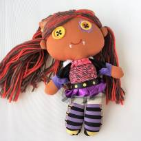 Boneca De Pelúcia Monster High Da Mattel