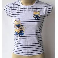 Camiseta Infantil Meu Malvado Favorito Marca Minion Tam.12a - 12 anos - Minion e Minions