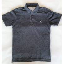 Camisa Pólo Infantil Da Reserva Mini Cinza Tam.12a - 12 anos - Reserva mini e Reserva