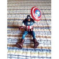 Capitão América Articulado - Sem faixa etaria - Sem marca