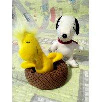 Lote Snoopy & Woodstock pelúcia - Sem faixa etaria - Snoop