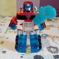Transformers Rescue Bots Energize - Optimus Prime - Sem faixa etaria - Hasbro