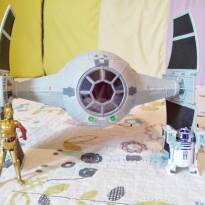 Nave Star Wars Tie Fighter Inquisitor Com R2-D2 E C-3PO - Sem faixa etaria - Hasbro