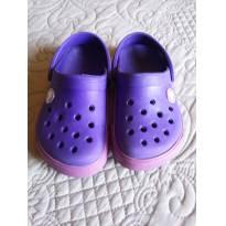 Crocs 8/9 - 23/24 br - Original menina infantil roxo e lilás - 23 - Crocs