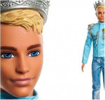 Ken príncipe da Barbie - Sem faixa etaria - Mattel