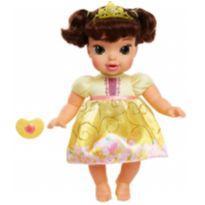 Boneca Bela Baby Princesa Disney Original Macia