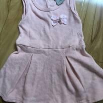 Vestido corações - 9 a 12 meses - Carinhoso
