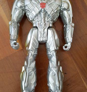 Boneco Silver Knight Optimus Prime - Sem faixa etaria - Hasbro