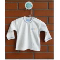 Camiseta Manga Longa - 3 a 6 meses - Outra