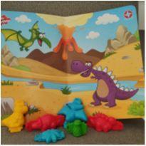 Forminhas para massinha - Dinossauros - Estrela -  - Estrela