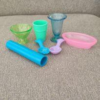 Forminhas para massinha - Kit Sorvete - Play-Doh