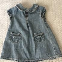 Vestido Jeans Zippy Baby - 1 ano - 1 ano - Zippy baby