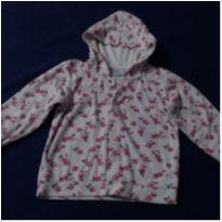 Blusa de capuz florzinhas - 1 ano - Baby fashion