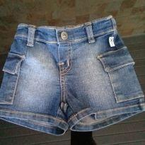 short  jeans muito boy - 6 a 9 meses - Hering Baby
