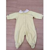 Macacão com presponto bordado na golinha, para aquecer seu pedacinho de amor  S2 - Recém Nascido - Beth Bebê