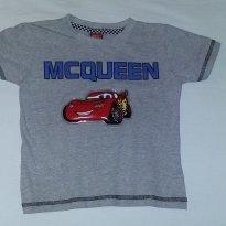 Blusa Mcqueen - 2 anos - Disney