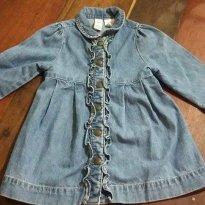 Vestido GAP  Jeans importado - 6 a 9 meses - Baby Gap