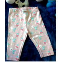 Calça legging feminina Teddy boom - superrrrr nova - 0 a 3 meses - Teddy Boom