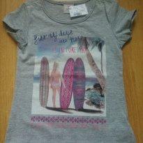 Camiseta Manga Curta - 3 anos - Fuzarka