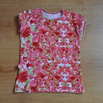 Camiseta Floral - 2 anos - Be litle