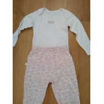 Conjunto Body e calça - 18 meses - Be Little