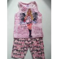 Conjunto Barbie - 3 anos - cea e outro
