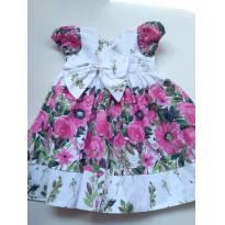 Vestido Flor - 2 anos - Não informada