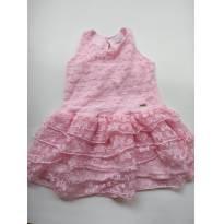 Vestido Rosa - 1 ano - Sem marca