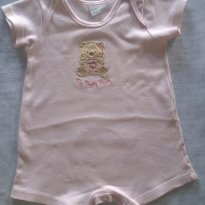 Macacão curto Ursinha Vicky Lipe - 6 meses - VICKY LIPE