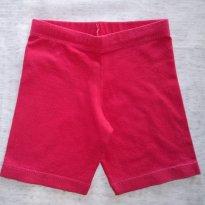 Short Pink - 3 anos - Não informada