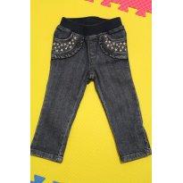 200 Jeans estrelado - 12 a 18 meses - Gymboree