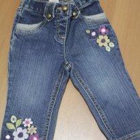 394 Jeans bordado - 12 a 18 meses - Gymboree