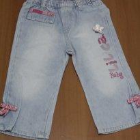 399 Jeans Lilica bordada - 9 a 12 meses - Lilica Ripilica