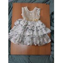 643 Vestido de Princesa I - 2 anos - Cattai