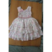 645 Vestido Princesa 3 - 2 anos - Cattai
