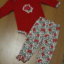 657 Conjuntinho primavera - 3 a 6 meses - baby gear (EUA)