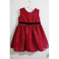 641 Vestido Joaninha - 2 anos - Wonder Kids - USA