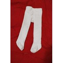666 Meia calça de bolinhas - 6 meses - Everly