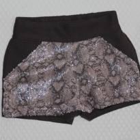1162 Shorts paetês - 2 anos - Milon