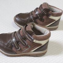 1326 Tênis botinha conforto em couro - 27 - Mimopé