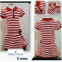 1421 Vestido tenista - 5 anos - Nautica