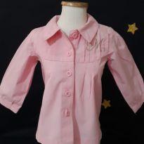 662 Camisa mocinha - 6 a 9 meses - Milon