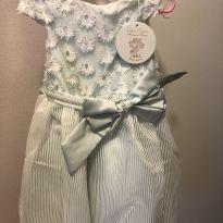 Vestido de Festa Novo!! Tamanho 2 - 18 a 24 meses - Petit Cherie