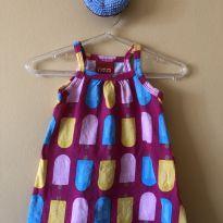 Vestido Picolé - 3 meses - Kyly e kyly, milon e outras
