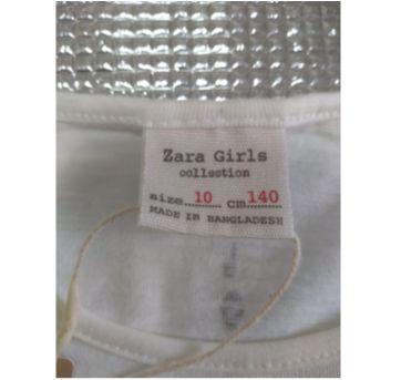 Blusa Zara Nunca Usada com etiqueta - 10 anos - Zara